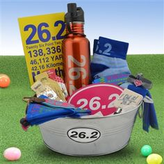 26.2 Marathon Girl Gift Basket | Gift Baskets for Runners | Runners Gift Baskets