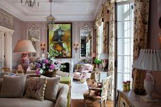 LOVE, LOVE, LOVE this interior!!! NH Design by Nicky Haslam