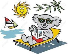 cartoon koalas barbecue - Google Search
