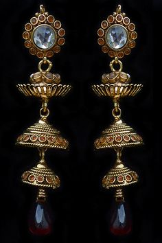 Beautiful New Design Indian Traditional Earrings Jewelry Kundan Diva Style only at $22.50