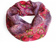 ANGELIKA – russian scarf by á la Russe  Russischer Tuch von á la Russe