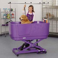 Dog Grooming Tools, Dog Grooming Shop, Dog Grooming Salons, Dog Grooming Business, Poodle Grooming, Dog Bathing Station, Dog Bath Tub, Bath Tubs, Pet Spa