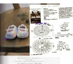 Zapatitos Zapatos Crochet Tejido Bebe Regalos Baby Shower Pelauts