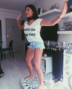 "41.6k Likes, 498 Comments - Rachel Apollonio (@rachelapollonio) on Instagram: ""Apenas EMOCIONADA!! Vem logo RIRI  meu look todinho @ladyrockoficial @pepsioficial #podeserépico…"""