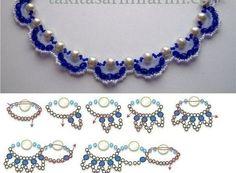 DIY Fashion Beads Bracelet DIY Fashion Beads Bracelet by diyforever Diy Jewellery Designs, Jewelry Patterns, Bracelet Patterns, Jewelry Design, Jewelry Accessories, Seed Bead Jewelry, Beaded Jewelry, Handmade Jewelry, Beaded Bracelets