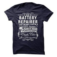 (Top Tshirt Charts) I am a Battery Repairer [Tshirt design] Hoodies