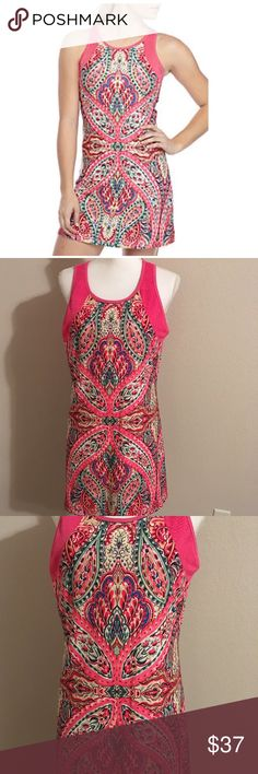 Nanette Lepore athletic dress XL Great dress to run around town or great for a cruise. Built in bra. 19 across bust 33 inches long. Stretchy knit Nanette Lepore Dresses
