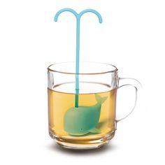 gongdreen. Dreaming Whale Tea Infuser.