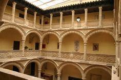 Castillo palacio de Los Salcedo.Baeza. Jaen .Spain.