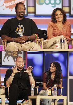 A Different World: Kadeem Hardison & Jasmine Guy.  Sinbad & Lisa Bonet