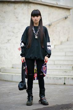 """Paris Fashion Week Spring Summer 2014"" via asusual.us"