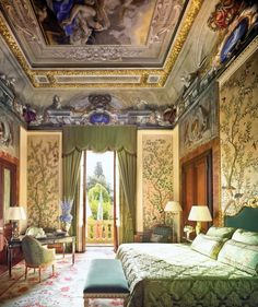 "33. Four Seasons Hotel Firenze. The 11-acre botanical garden that is home to these two restored Renaissance buildings—a fifteenth-century palazzo and a sixteenth-century convent—is ""like heaven."""