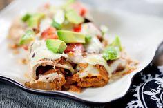 Jackfruit Enchiladas #vegan #glutenfree   Keepin' It Kind