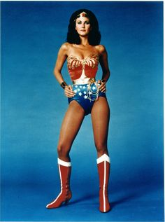wonder woman   And here's Lynda Carter as Wonder Woman from the 1970s series. Who ...