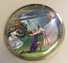 "Vintage Melissa OF London"" Powder Compact ENG 1950 | eBay"