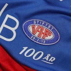 VIF Logo med 100 år under Logo, Sports, Hs Sports, Logos, Logo Type, Sport, Environmental Print