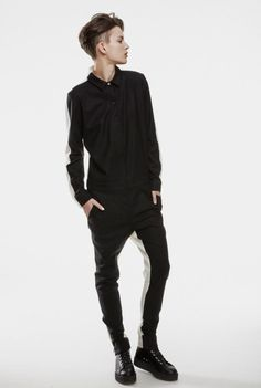 Image result for androgynous fancy outfit