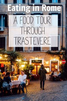Eat your way through Rome's Trastevere neighborhood http://anamericaninrome.com/wp/2016/04/a-rome-food-tour-through-trastevere/