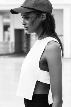 Fashion we like / Shirt / White / Open / Minimal / at ****LUNA ****