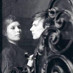 The existentialists Astrid Kirchherr and Stuart Sutcliffe 1961 in Hamburg