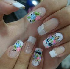 Magic Nails, Erika, Pedicure, Nail Art Designs, Icing, Finger, Nail Polish, Short Nails, Nail Art