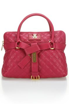 Marc Jacobs Bruna Tote In Berry