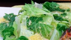 If you like caesar salad, you'll love this super quick and easy dressing from Chef Joshna. Toss with romaine lettuce and garnish with freshly grated parmesan cheese. Ingredients 1/4 cup freshly grated parmesan cheese 1/2 cup olive oil 1/4 cup...