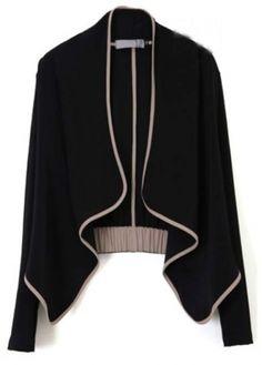 Fashion Atutumn Winter Essential Black Cardigans for Woman | martofchina.com