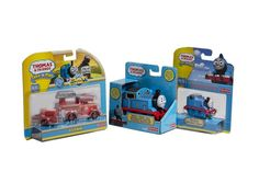 Juguetes Thomas and Friends, marca Fisher Price.