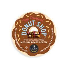 K-Cup® 18-Count The Original Donut Shop™ Coconut Mocha Coffee for Keurig® Brewers - BedBathandBeyond.com