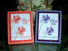 Crafting with Princess Lisa, Lisa Eisner, Lotus Blossom Stamp Set, Thank You card