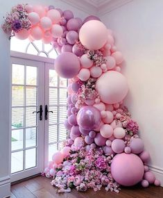 Birthday Balloon Decorations, Baby Shower Decorations, Wedding Decorations, Decor Wedding, Birthday Balloons, Wedding Balloons, Christmas Decorations, Balloon Backdrop, Balloon Garland