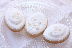 ... White cookies on Pinterest | Cookies, White On White and Iced Cookies