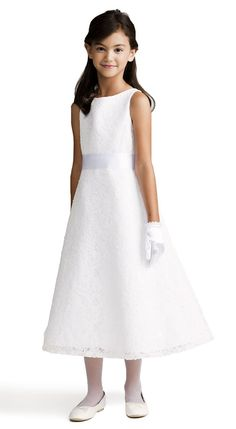 Kelsey's First Communion Dress <3