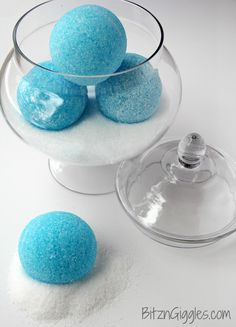 Peppermint Bath Bombs