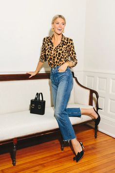Leopard Signature Shirt | The Shirt by Rochelle Behrens