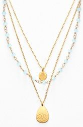 Satya Jewelry Beaded Layered Necklace (Nordstrom Exclusive)