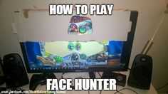 Face hunter tutorial #Hearthstone #memes