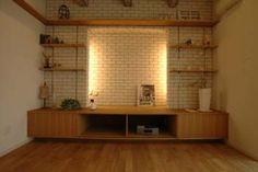 造作 TVボード兼飾り棚