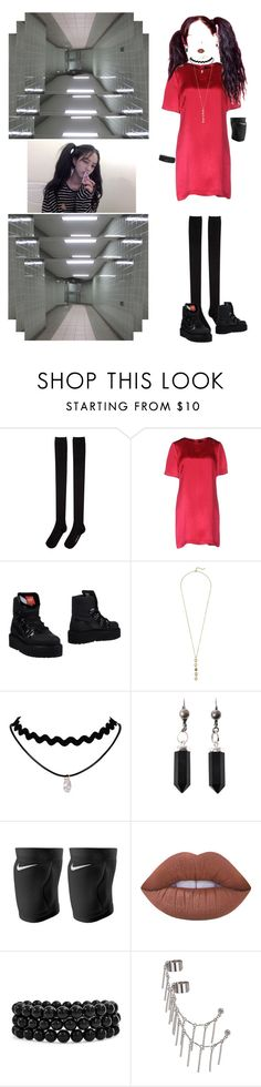 """""""[ Teaser #2 : Chan ]"""" by xxeucliffexx ❤ liked on Polyvore featuring Hansel from Basel, Marc by Marc Jacobs, Puma, Cole Haan, Isabel Marant, NIKE, Lime Crime, Bling Jewelry, Topshop and jk"""