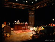 Freud's Last Session. The Alley Theatre. Scenic design by Brian Prather.