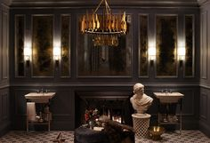 dramatic master bath by meredith heron for dxv with zia priven palermo