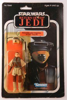 Princess Leia in Bounty hunter costume - Episode VI - 1983 - Kenner