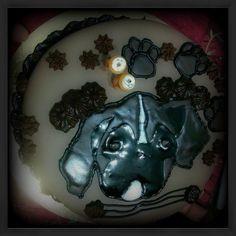 Boxer dog cake - Cake by Emily Lovett