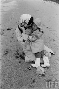 Jacqueline Kennedy and Caroline