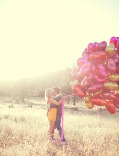 Figure out how many balloons it'd take to lift me off of the ground. Yes, seriously. :-)