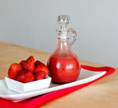 Simple Berry Sauce | DIVERSE DINNERS Dessert Sauces, Dessert Recipes, Triple Sec Cocktails, Berry Sauce, Coconut Cupcakes, Light Desserts, Molecular Gastronomy, Simple Syrup, Plated Desserts