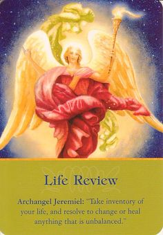Got Angel?                                                       : Archangel Oracle Card for 11-14-14 Life Review