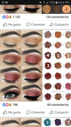 Eye makeup is able to improve your beauty and also help to make you look amazing. Learn the way in which to use make-up so that you may easily show off your eyes and stand out. Learn the most beneficial ideas for applying makeup to your eyes. Makeup Goals, Love Makeup, Makeup Inspo, Makeup Inspiration, Makeup Tips, Beauty Makeup, Makeup Ideas, Skin Makeup, Eyeshadow Makeup