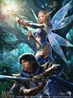 lulu-Legend of the Cryptids2 by liangxinxin.deviantart.com #fairy #lotc